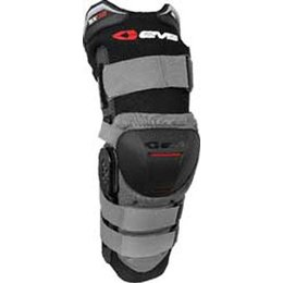 Black, Grey Evs Sx02 Knee Brace Black Grey