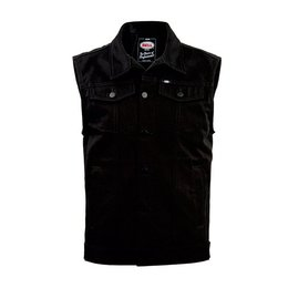 Bell Powersports Mens Graham Denim Vest Black