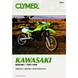 Clymer Repair Manual For Kawasaki KDX200 KDX-200 83-88