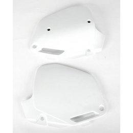 UFO Plastics Side Panels White For Honda CR 125R-500R 90-01