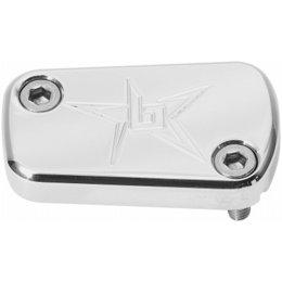 Blingstar Rear Brake Cover Billet Aluminum Polished For Kaw KFX450 All Years
