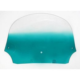 Memphis Shades Batwing 9 Inch Windshield Teal
