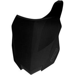 Acerbis Front Number Plate For Kawasaki KX250F KX450F Black 2314150001 Black