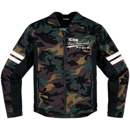 Icon Mens 1000 Collection Oildale Conscript Armored Textile Jacket