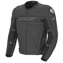 Stealth Black Joe Rocket Mens Speedmaster Leather Jacket 2014 40