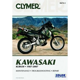Clymer Repair Manual For Kawasaki KLR650 KLR-650 87-07