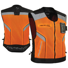 Orange Fieldsheer On Base 2.0 Mesh Vest
