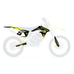 Factory Effex Rockstar Shroud And Trim Graphic Kit For Suzuki RM-Z250 2010-2014
