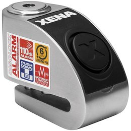 Xena Security XXZ6 Disc-Lock With Alarm With 6mm Pin Stainless Steel