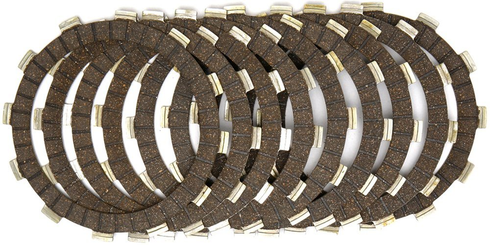 a862ae2f58 EBC CK Series Standard Cork Clutch Friction Plates Only For Yamaha CK2379