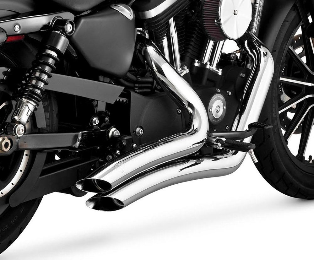 $624.99 Vance & Hines Big Radius 2 Into 2 Full Exhaust #209880