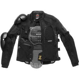 Spidi Sport Mens Multitech Armor EVO Protection Jacket Black