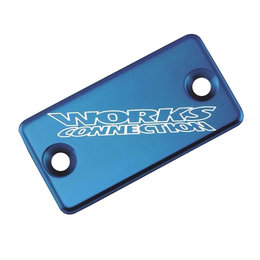 Works Connection Brake Cap Front Blue For Yamaha YZ WR TTR