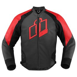 Red Icon Mens Hypersport Leather Jacket 2014