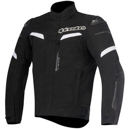 Alpinestars Mens Pikes Drystar Armored Textile Jacket Black