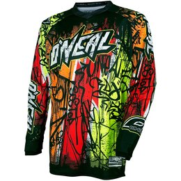 Oneal Mens Element Vandal Jersey Black