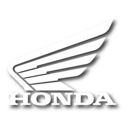 Factory Effex Decal Wing Logo 3-Pack White For Honda 289365
