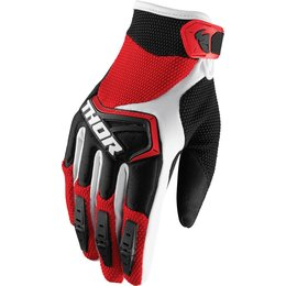 Thor Youth Boys Spectrum MX Gloves Red