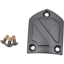 Black Icon Replacement Heelplate Kit For Field Armor 2 Boots 2 Pack