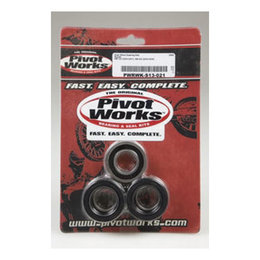 N/a Pivot Works Wheel Bearing Kit Rear For Suzuki Rm125 Rm250