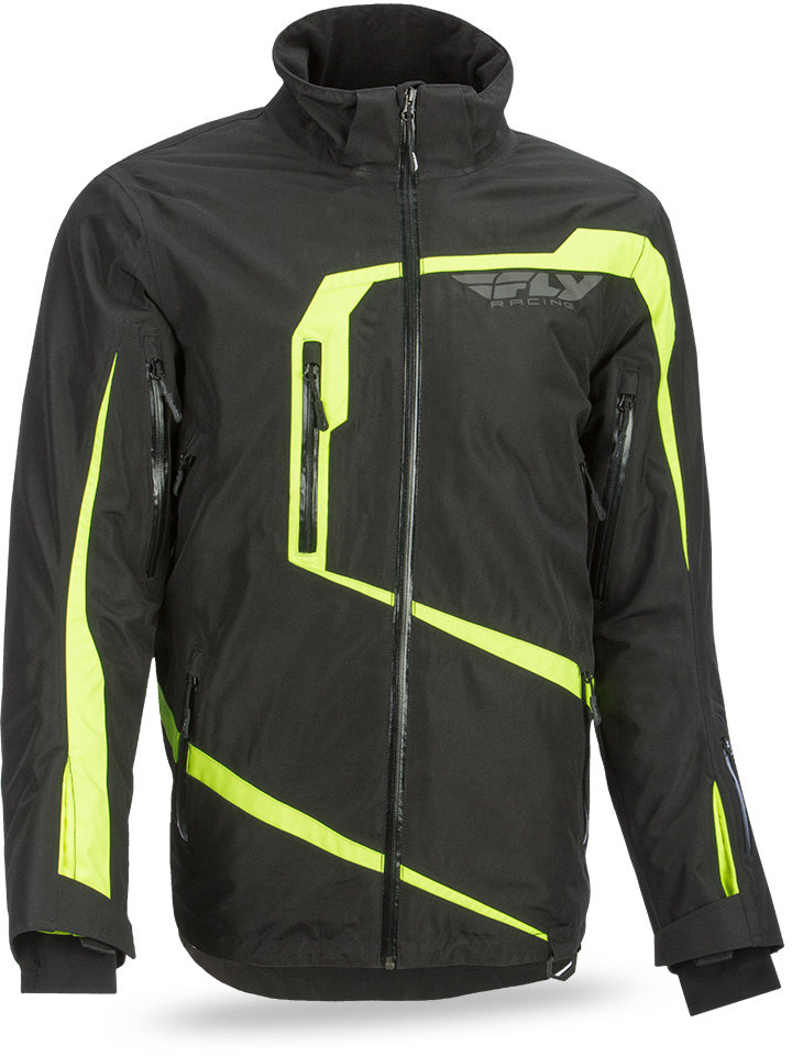 $299.95 Fly Racing Mens Carbon Snow Jacket #998517