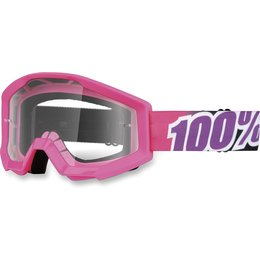 Pink 100% Strata Bubble Gum Goggles With Clear Lens 2014