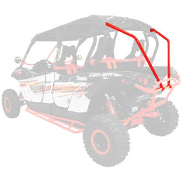 Dragonfire Racing RacePace 4 Seat Back Bones For Can-Am Maverick Max Red 01-2109 Red