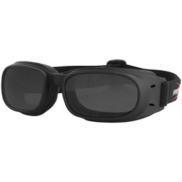 Smoke Bobster Piston Goggles Black W Lens