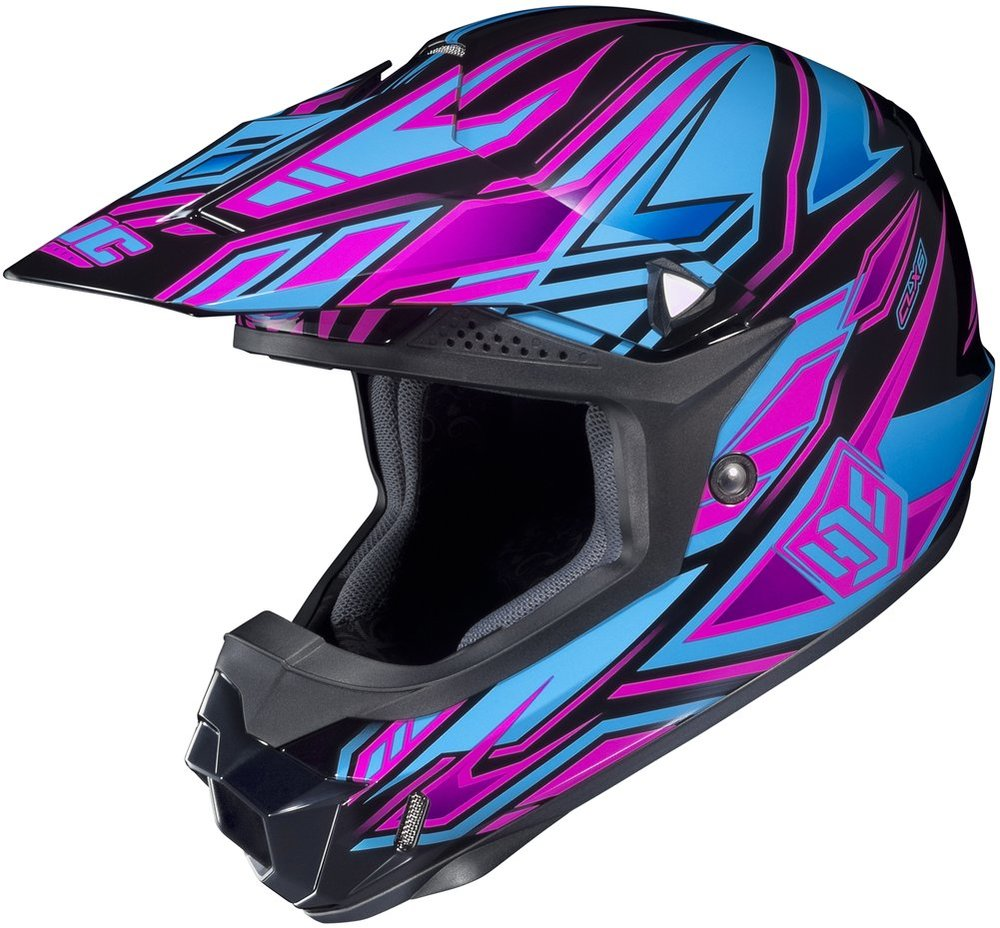 13999 Hjc Womens Cl-X6 Fulcrum Helmet 2013 195916-4625