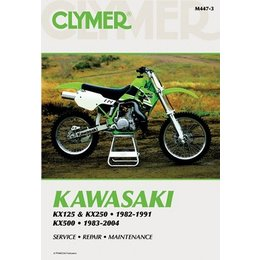 Clymer Repair Manual For Kawasaki KX125 KX250 KX500 82-04