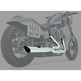 Python 2:1 Full Exhaust System Chrome For Harley-Davidson FLST FXS/T