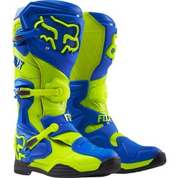 Fox Racing Mens Comp 8 Riding Boots Blue