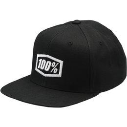 100% Youth Boys Corpo Snapback Hat Black