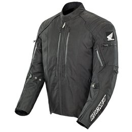 Black Joe Rocket Mens Honda Cbr Textile Jacket 2014