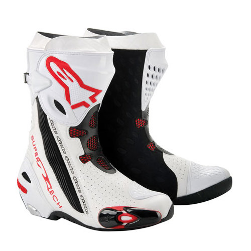 alpinestars supertech r boots 2012 142056. Black Bedroom Furniture Sets. Home Design Ideas