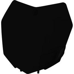 Acerbis Front Number Plate For KTM Black 2314230001 Black