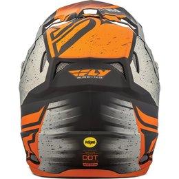 Fly Racing Toxin Resin Graphic MX Helmet Orange