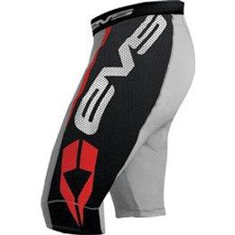Black, Grey Evs Youth Ug03 Airtech Vented Riding Shorts Black Grey