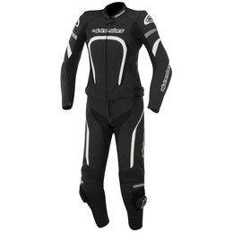 Alpinestars Womens Stella Motegi 2 Piece Leather Suit 2015 Black