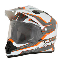 AFX FX-39DS FX39 DS Veleta Dual Sport Adventure Helmet Orange