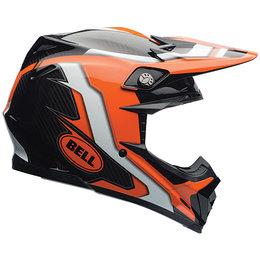 Bell Powersports Moto-9 Carbon Flex Factory Helmet Orange