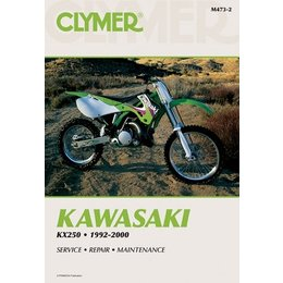 Clymer Repair Manual For Kawasaki KX250 KX-250 92-00