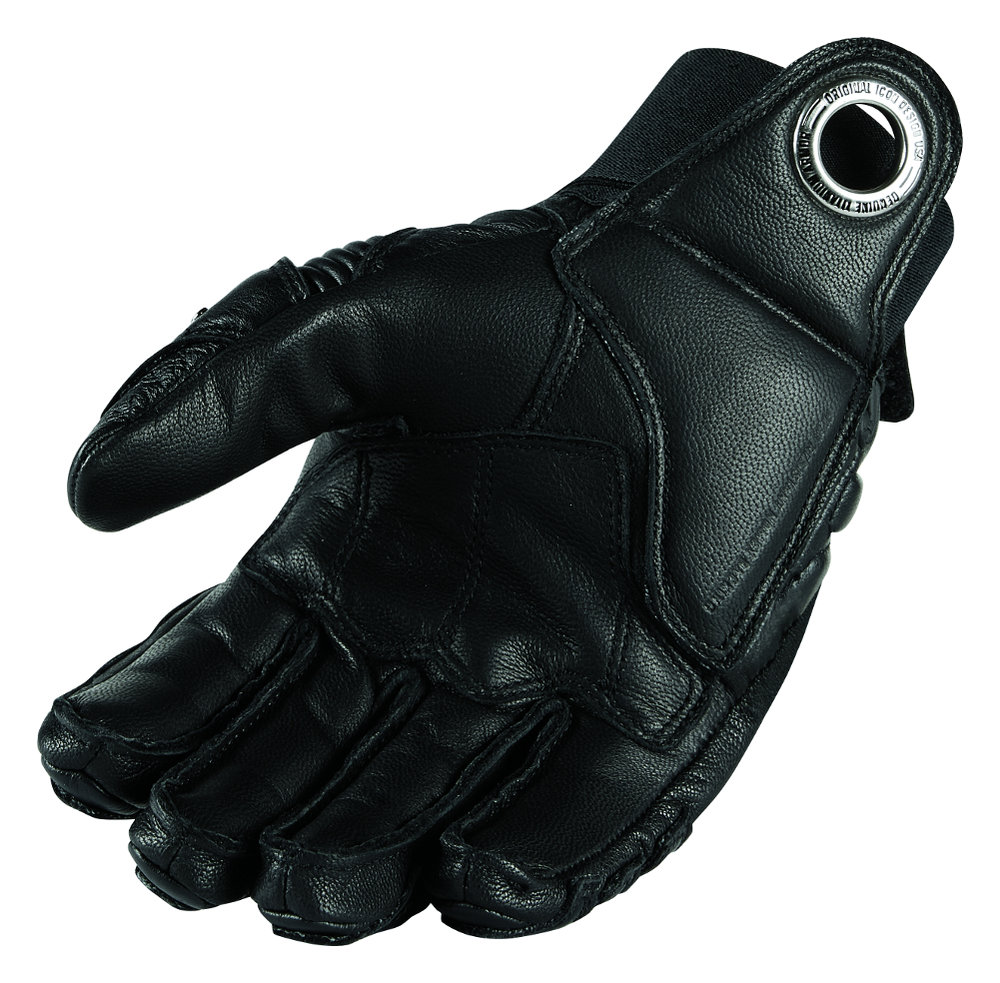 Driving gloves debenhams - Mens Leather Gloves Short Fingers Icon Mens Timax Short Leather Gloves With Titanium Knuckles Black
