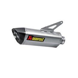 Akrapovic Slip-On Series Exhaust W Oval Muffler Titanium For Ducati Monster1200