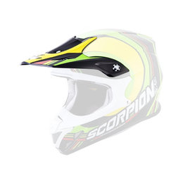 Scorpion VX-R70 Spot Replacement Visor Peak MX/Offroad Helmet Accessory Black