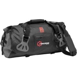 Black Firstgear Torrent 40 Liter Waterproof Duffel Gear Bag Luggage 2014