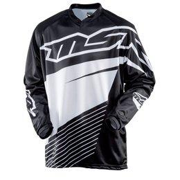 Black, White Msr Boys Axxis Jersey 2015 Black White