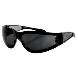 Smoke Bobster Shield Ii Sunglasses Black W Lens