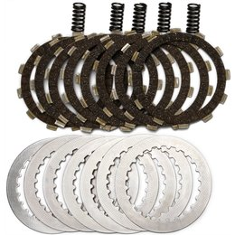 EBC DRC Series Clutch Kit With Cork Friction Plates For Honda CR125R DRC101 Unpainted