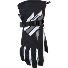Arctiva Womens Sky Insulated Textile Snowmobile Gloves Black